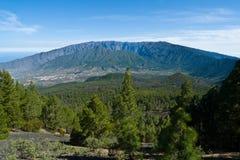 Caldera DE Taburiente, het eiland van La Palma Stock Fotografie