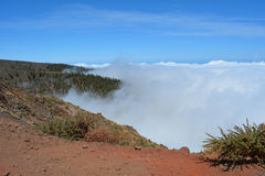 Caldera de Taburiente in La Palma, Canary islands, Spain. Royalty Free Stock Images