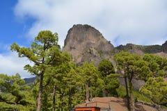 Caldera de Taburiente in La Palma, Canary islands, Spain. Royalty Free Stock Image
