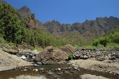 Caldera de Taburiente, La Palma, Canary Islands Stock Images