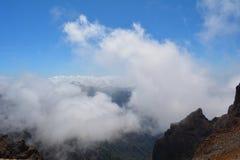 Caldera de Taburiente in La Palma, Isole Canarie, Spagna Fotografia Stock