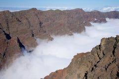 Caldera de Taburiente landscape at La Palma Royalty Free Stock Image