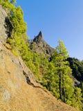 Caldera de Taburiente National Park on La Palma Stock Photography