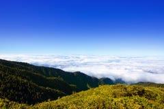 Caldera de Taburiente sea of clouds La Palma Stock Photos