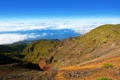 Caldera de Taburiente sea of clouds La Palma Royalty Free Stock Photos
