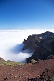 Caldera de Taburiente view at La Palma Royalty Free Stock Photography