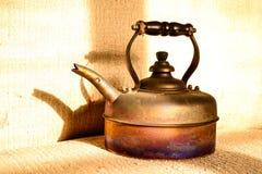 Caldera del café Foto de archivo libre de regalías
