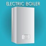 Caldera eléctrica Calefacción de la casa Fotografía de archivo
