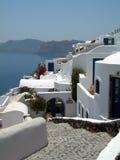 Caldera greek islands hotel traditional h Royalty Free Stock Photography