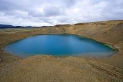 Caldera Lake stock image