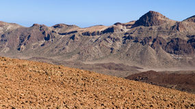 Caldera of Mount Teide Royalty Free Stock Photography