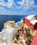 Caldera, Oia, Santorini, Greece Royalty Free Stock Photography