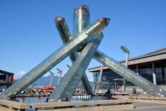Caldera olímpica 2010 Imagen de archivo libre de regalías
