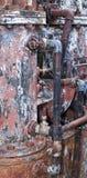 Caldera oxidada Imagen de archivo