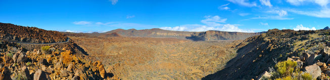 Caldera panorama Royalty Free Stock Photography