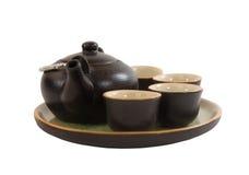 Caldera para el té Imágenes de archivo libres de regalías