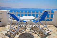 Caldera of Santorini, Greece Stock Photo