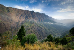 Caldera Taburiente Stock Photography