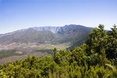 Caldera Taburiente in La Palma (Canary Islands). Royalty Free Stock Photography