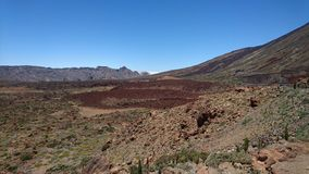 Caldera of Teide Tenerife Stock Images