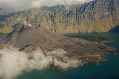 Caldera van vulkaan Royalty-vrije Stock Fotografie