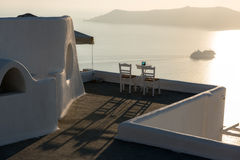 Caldera View. Panoramic view of Caldera in santorini Greece Royalty Free Stock Image