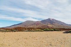 Caldera and volcano El Teide, Tenerife Stock Photo