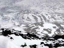 Caldera of volcano Pico del Teide, Stock Photo