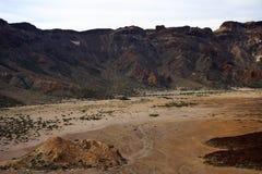 Caldera vulcânico Fotos de Stock Royalty Free