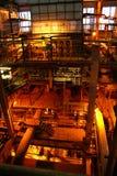 Calderas en la central eléctrica Imagen de archivo