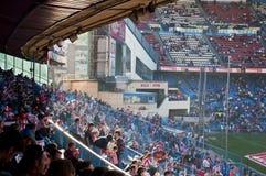 calderon马德里足球西班牙体育场维森特 免版税图库摄影
