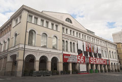 Calderon Theater in the 56st Seminci film festival Stock Image