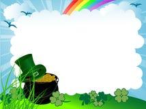 Calderone di St.Patrick illustrazione di stock