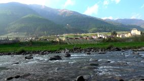 Caldes, Trentino, Italy. Caldes is a comune in Trentino in northern Italy.n stock video