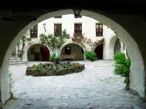 caldes de Boi,莱里达省(西班牙) 免版税库存图片