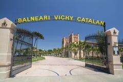 Caldes de Malavella, Cataluña, España imagen de archivo
