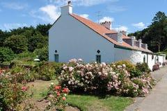 Caldey Häuser Lizenzfreie Stockbilder