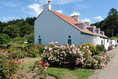 Caldey Houses Royalty Free Stock Images