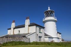 Caldey-Leuchtturm Lizenzfreie Stockfotos