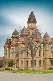 Caldwell County Courthouse in Lockhart Texas stock photos