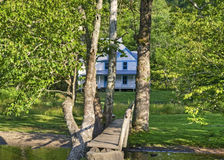 Caldwell Home, Cataloochee Valley, Great Smoky Mountains Nationa Stock Photo