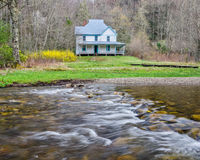 Caldwell House, Cataloochee Valley, GreatSmoky Mountains Stock Images