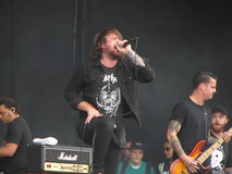 Caleb Shomo - Beartooth Lizenzfreie Stockfotos
