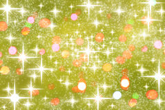 Calebration background with stars Stock Image