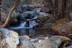 Caledonia waterfall. In Troodos Mountains Royalty Free Stock Image