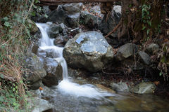 Caledonia waterfall. In Troodos Mountains Stock Photo