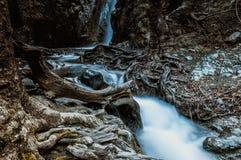 Caledonia Waterfalls in Platres village. Troodos Mountains, Lima Royalty Free Stock Image