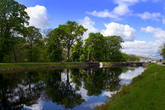 Caledonian канал Стоковая Фотография