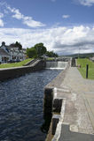Caledonian canal Royalty Free Stock Image