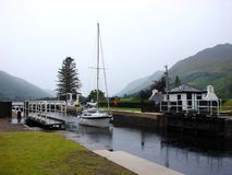 Caledonian Canal royalty free stock photography